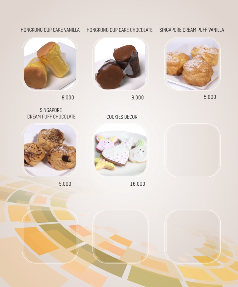 Imperial Cakery Menu - Page 9