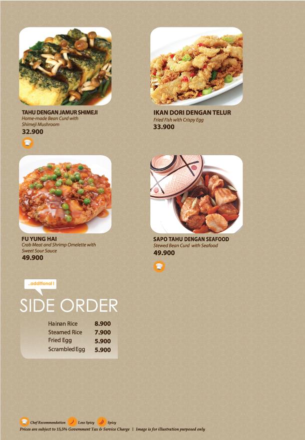 Imperial Kitchen Menu - Page 5.2