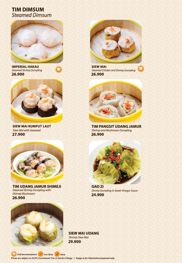 Imperial Kitchen Menu - Page 3