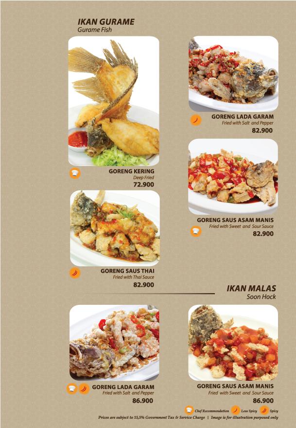 Imperial Kitchen Menu - Page 6-1