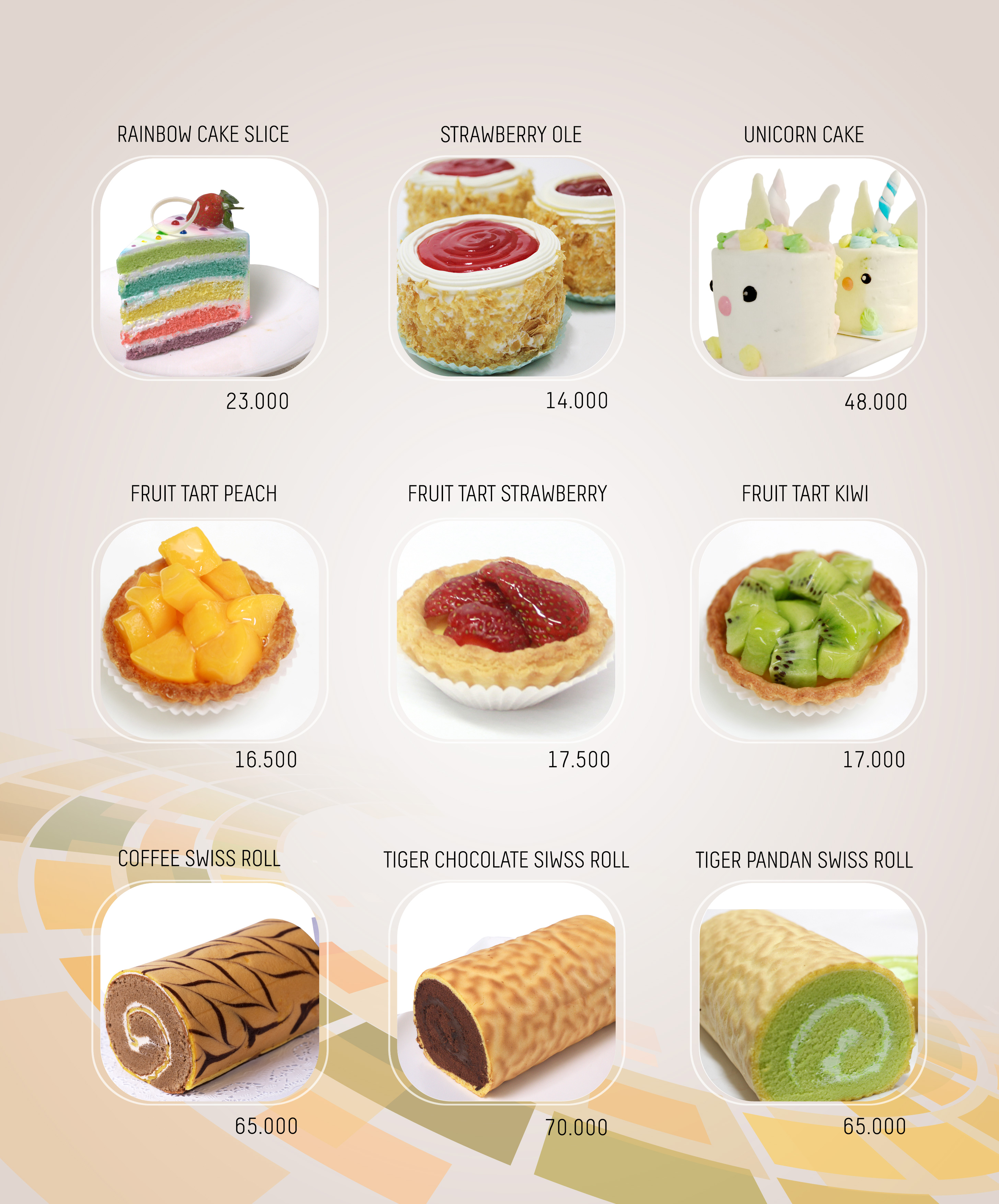 Imperial Cakery Menu - page 8