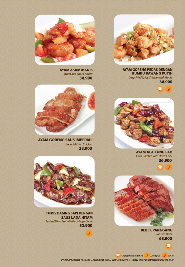 Imperial Kitchen Menu - Page 5.1