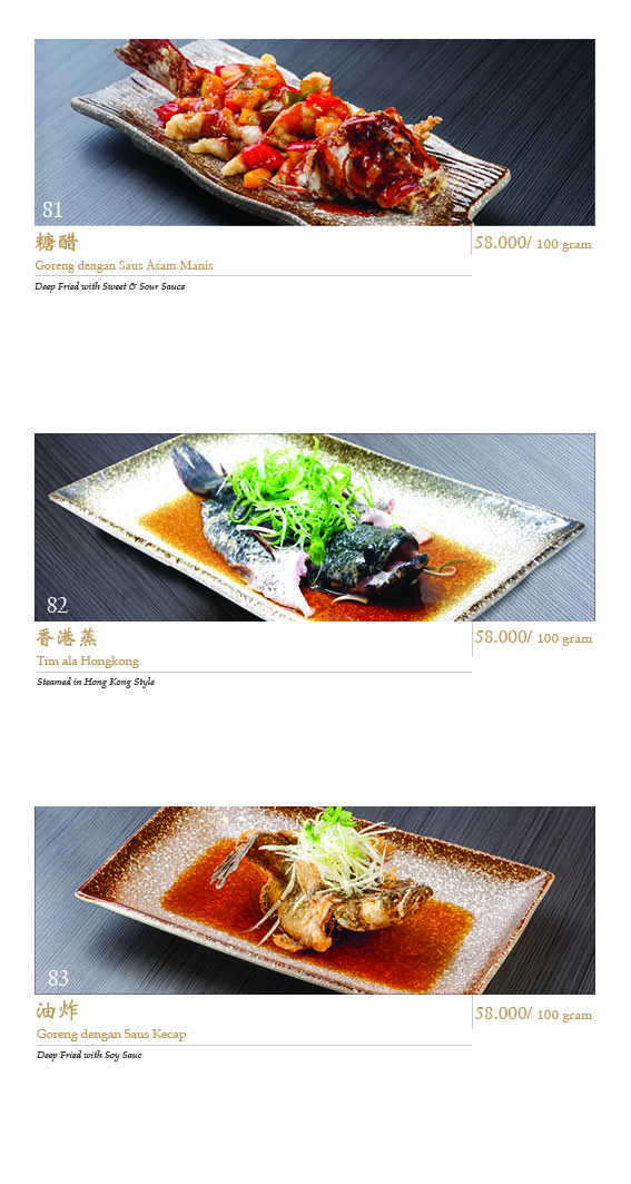 Imperial Shanghai Menu - Page 20