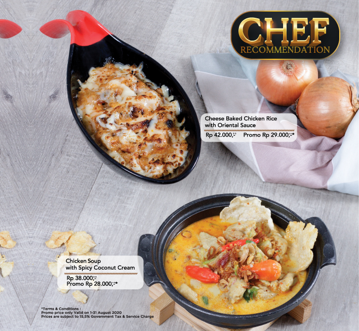 Imperial Tables Chef Recommendation