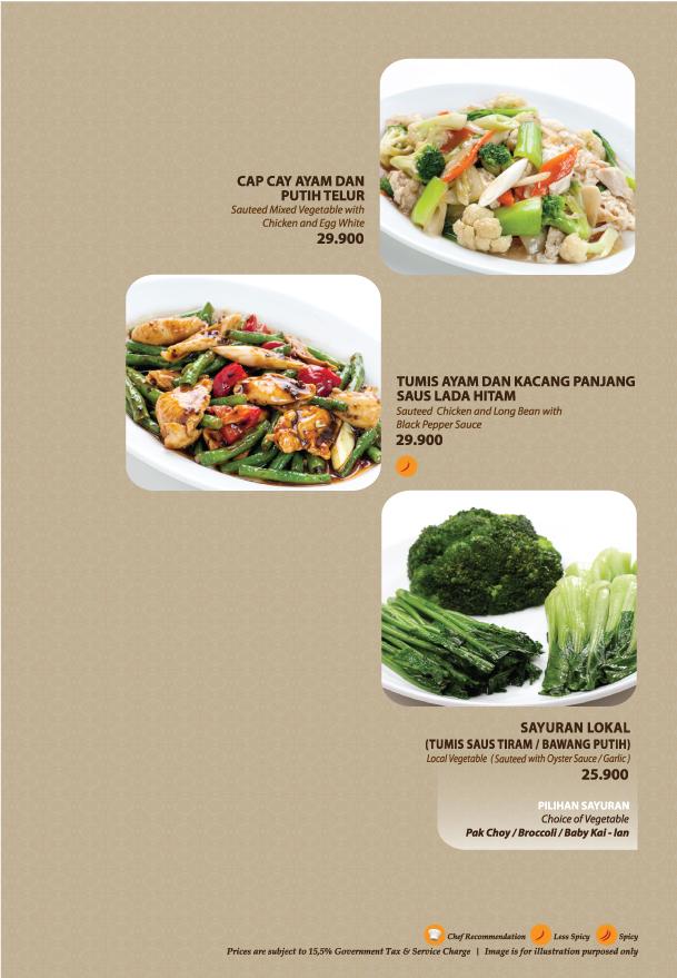 Imperial Kitchen Menu - Page 5.5