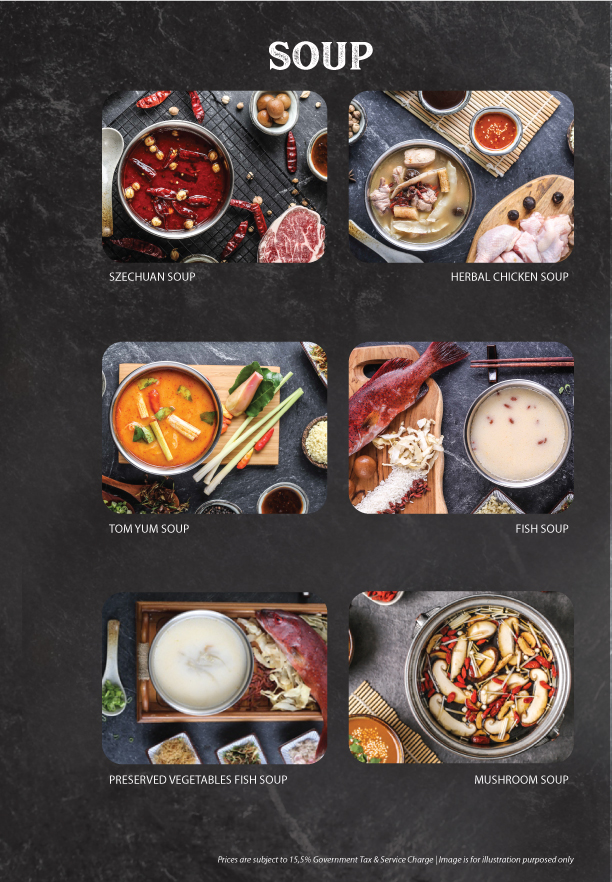 Imperial Steam pot - Page Menu 3