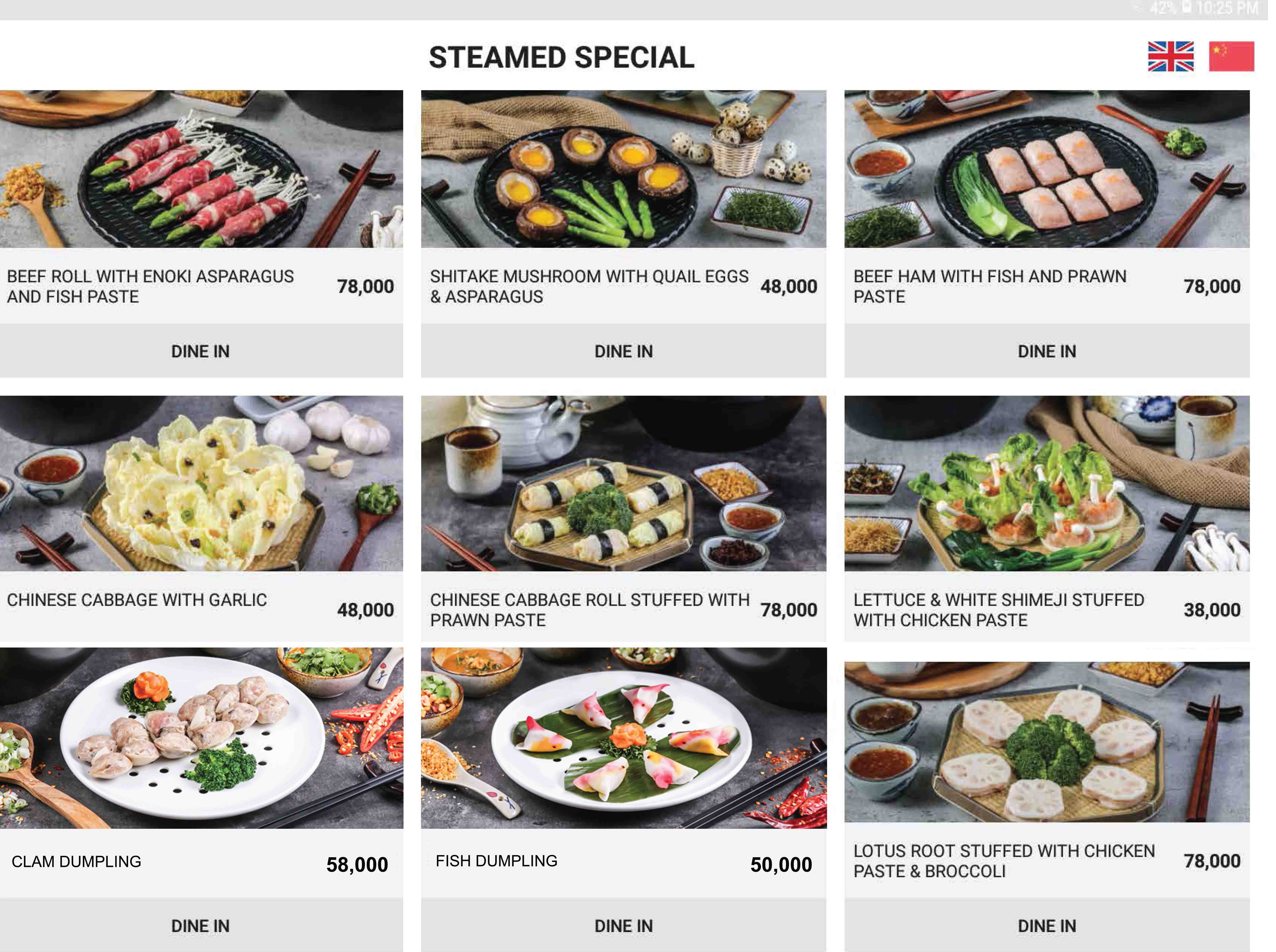 Imperial Steam pot - Page Menu 31