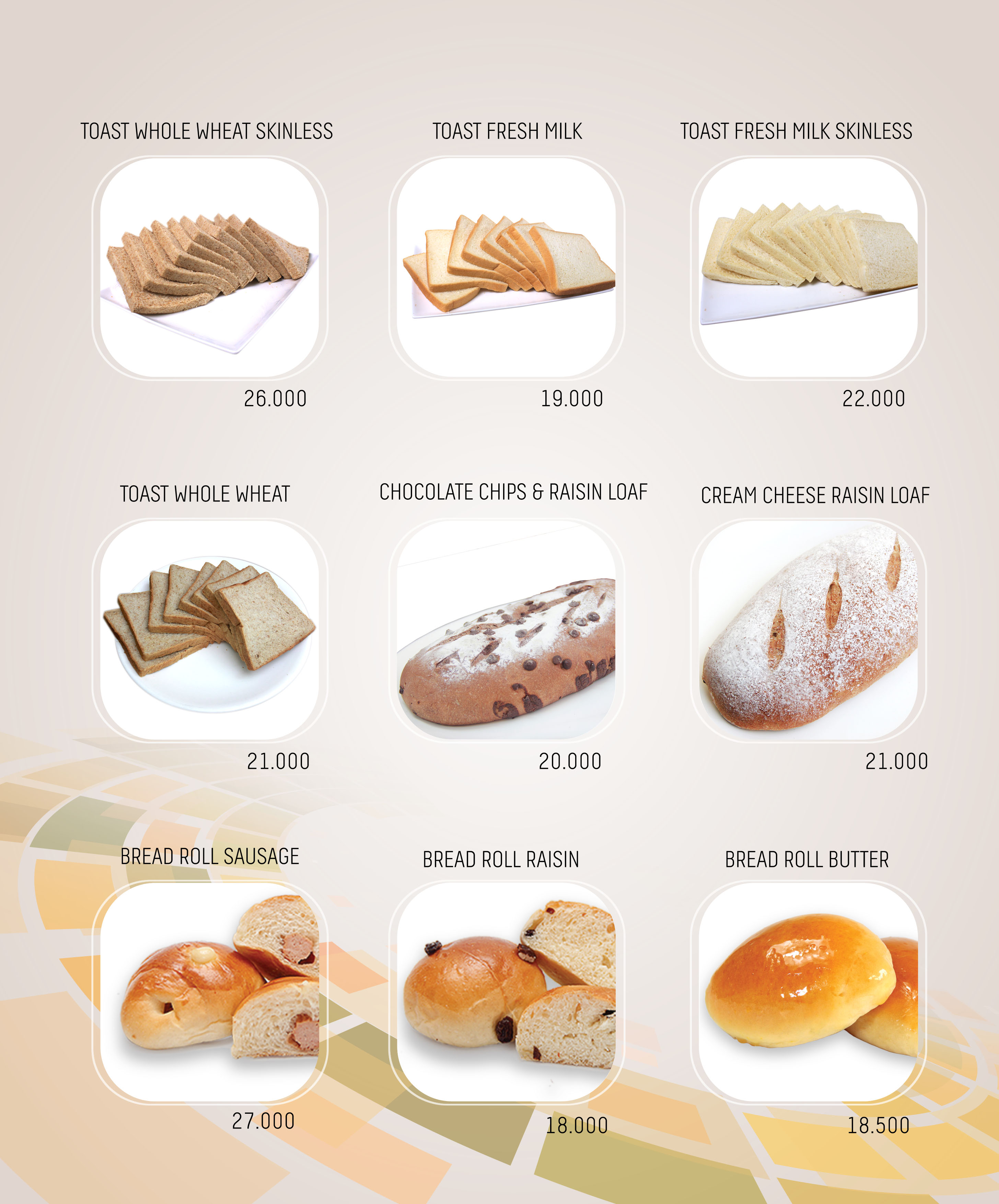 Imperial Cakery Menu - Page 3