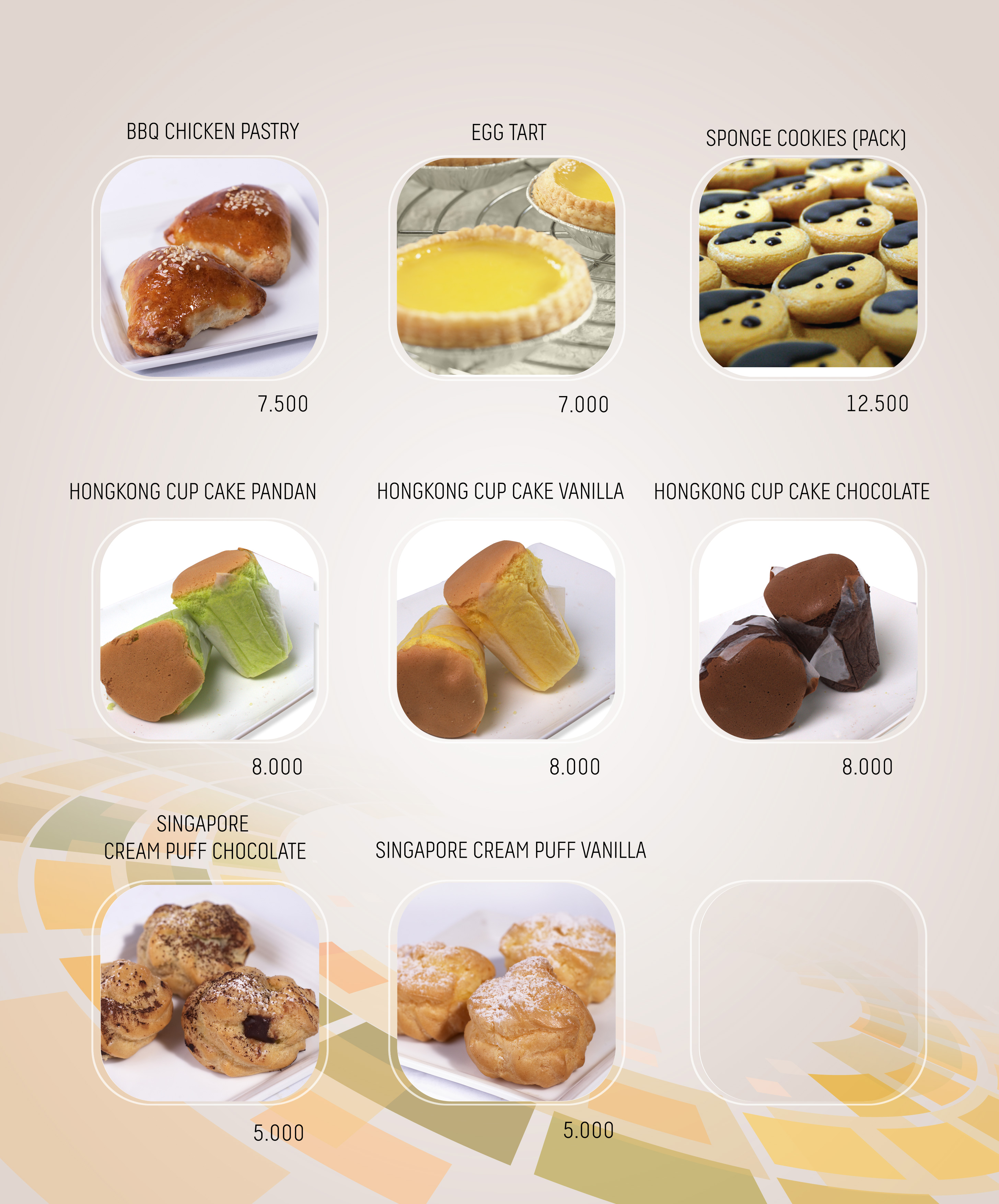 Imperial Cakery Menu - page 10