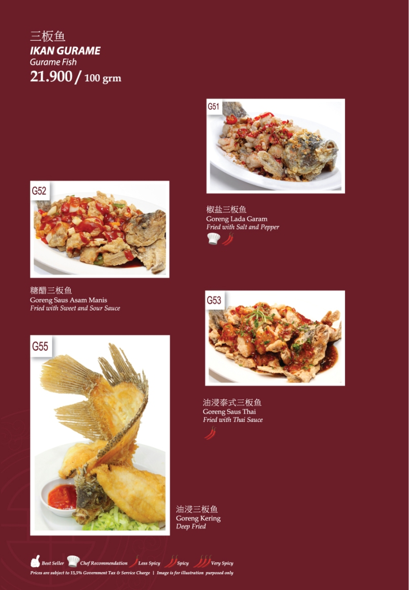 Imperial Lamian Menu - Page 20