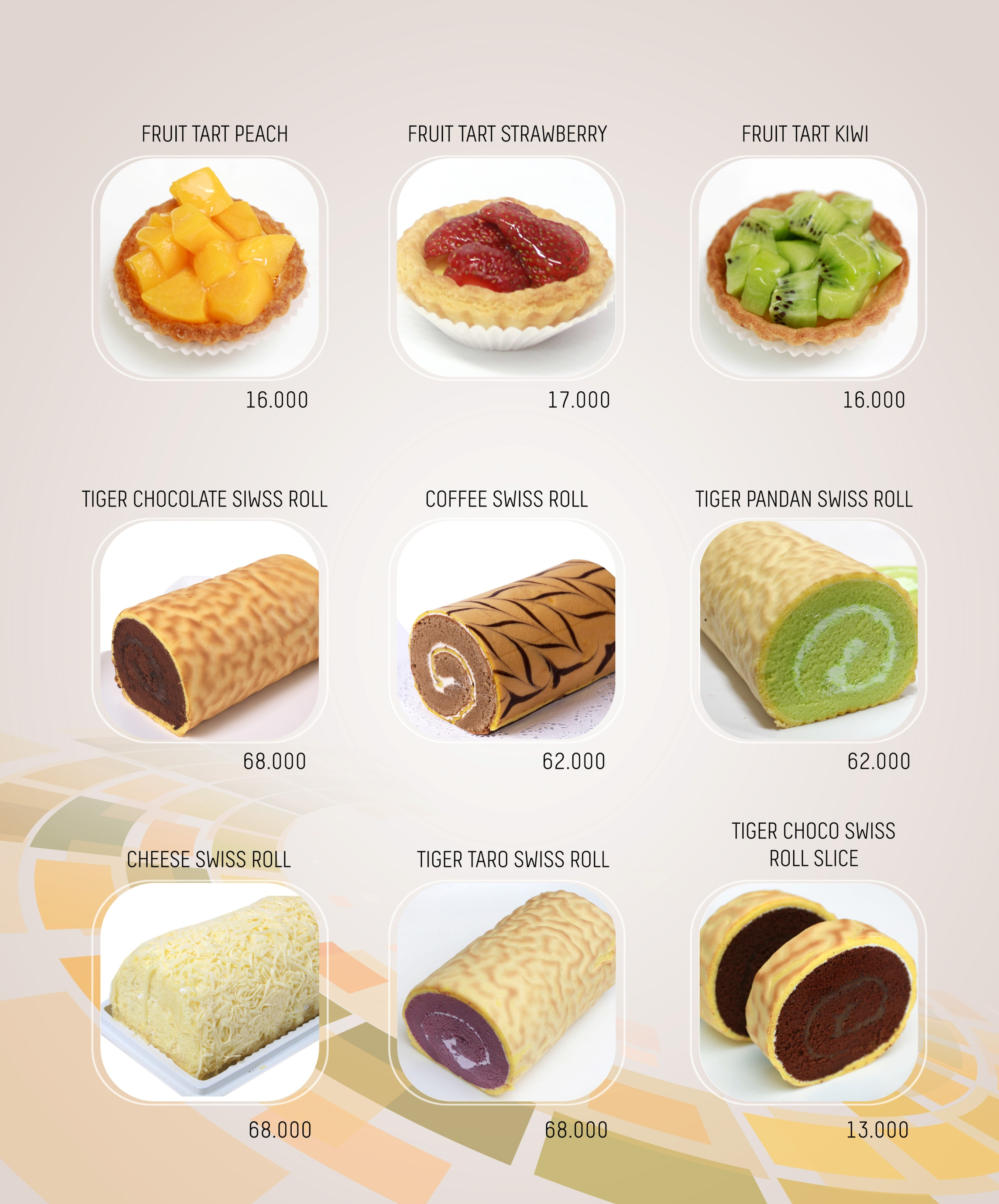 Imperial Cakery Menu - Page 7