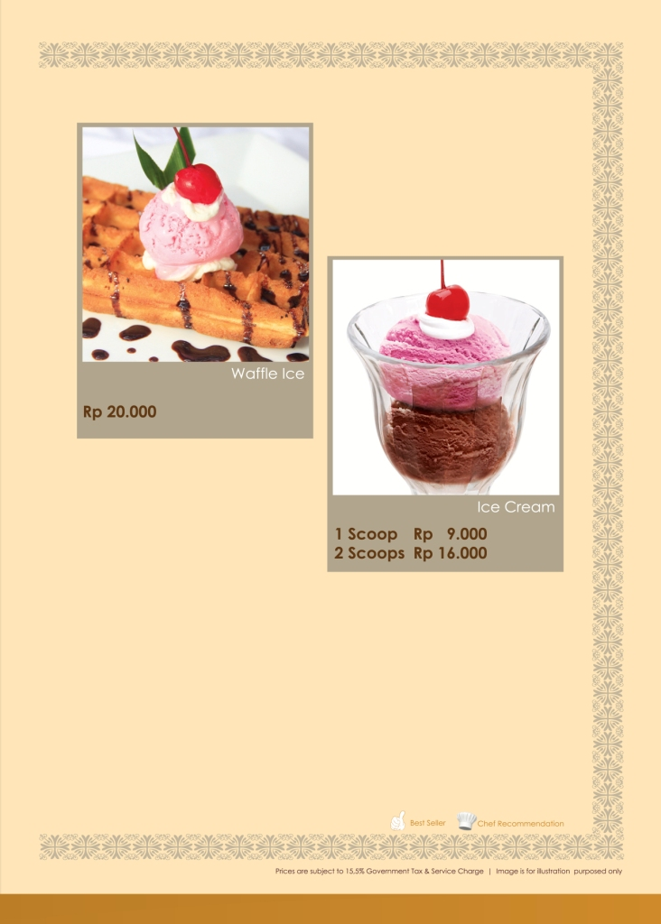 Imperial Cakery Menu - Page 17