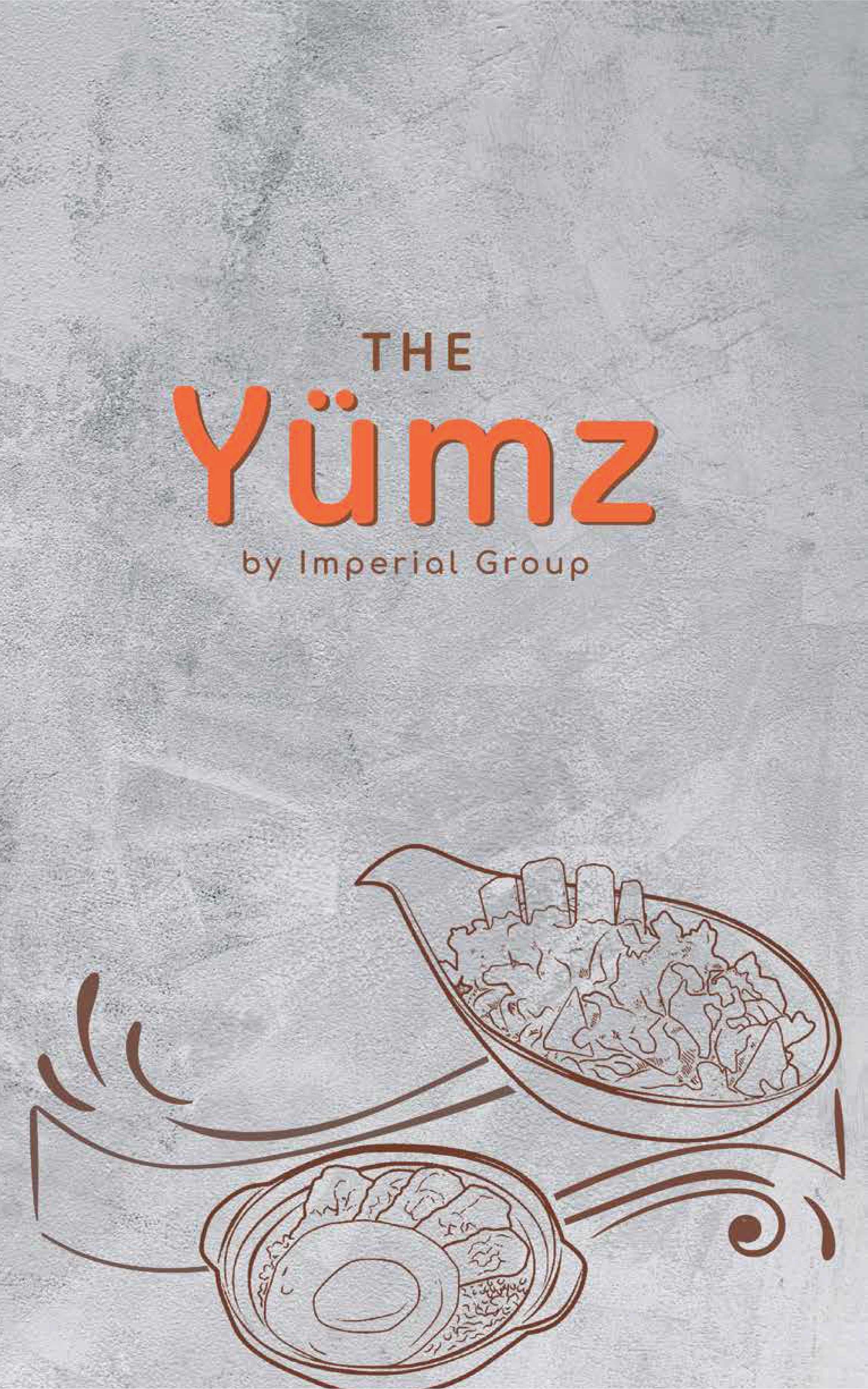 The Yumz - Cover Menu