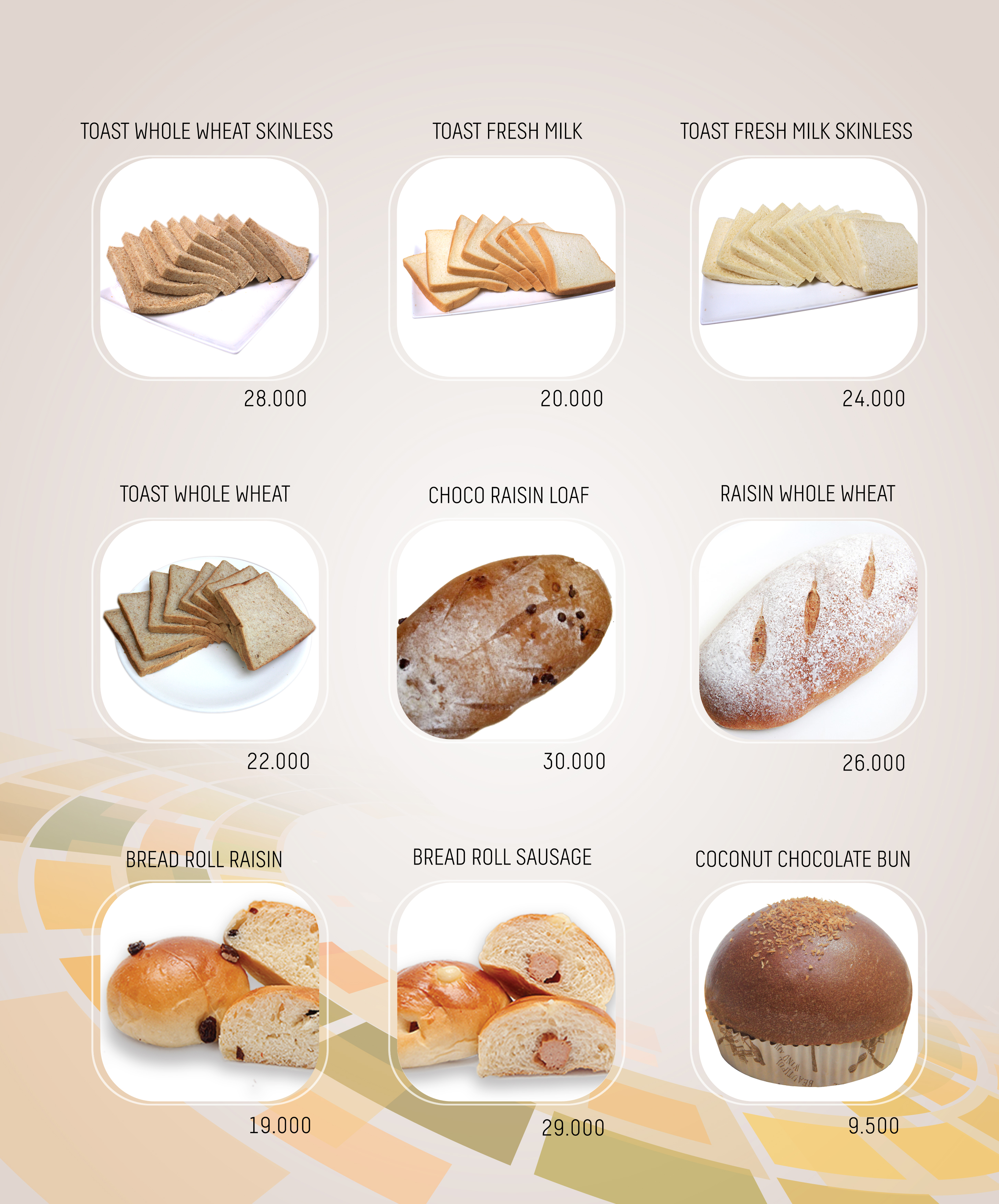 Imperial Cakery Menu - page 2