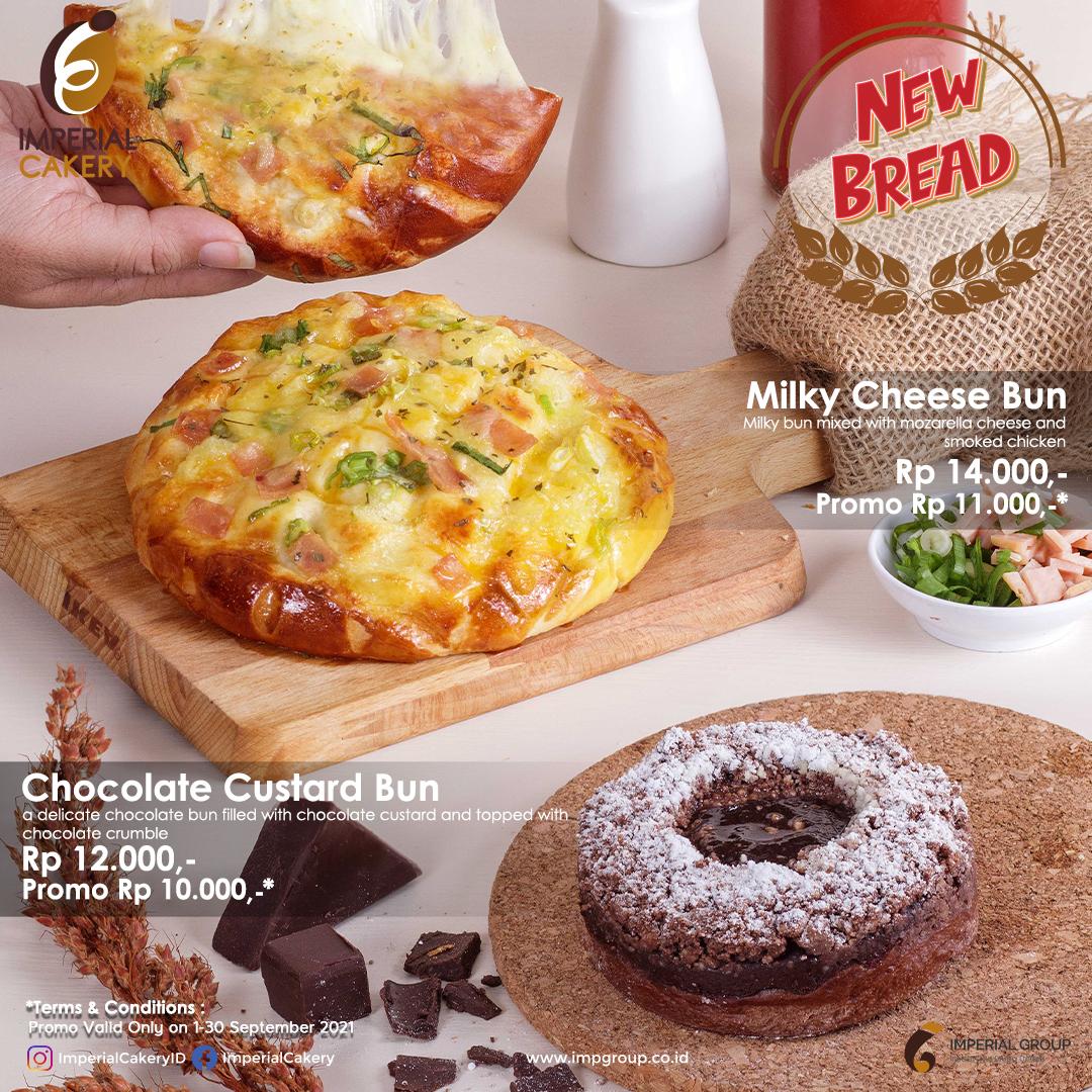 Imperial Cakery Menu - New Bread