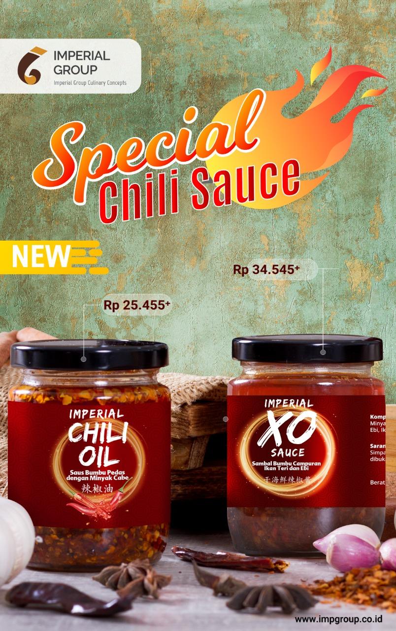 Imperial Kitchen Menu - Chili Oil