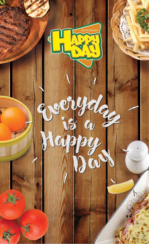 Happy Day Menu - Page 1