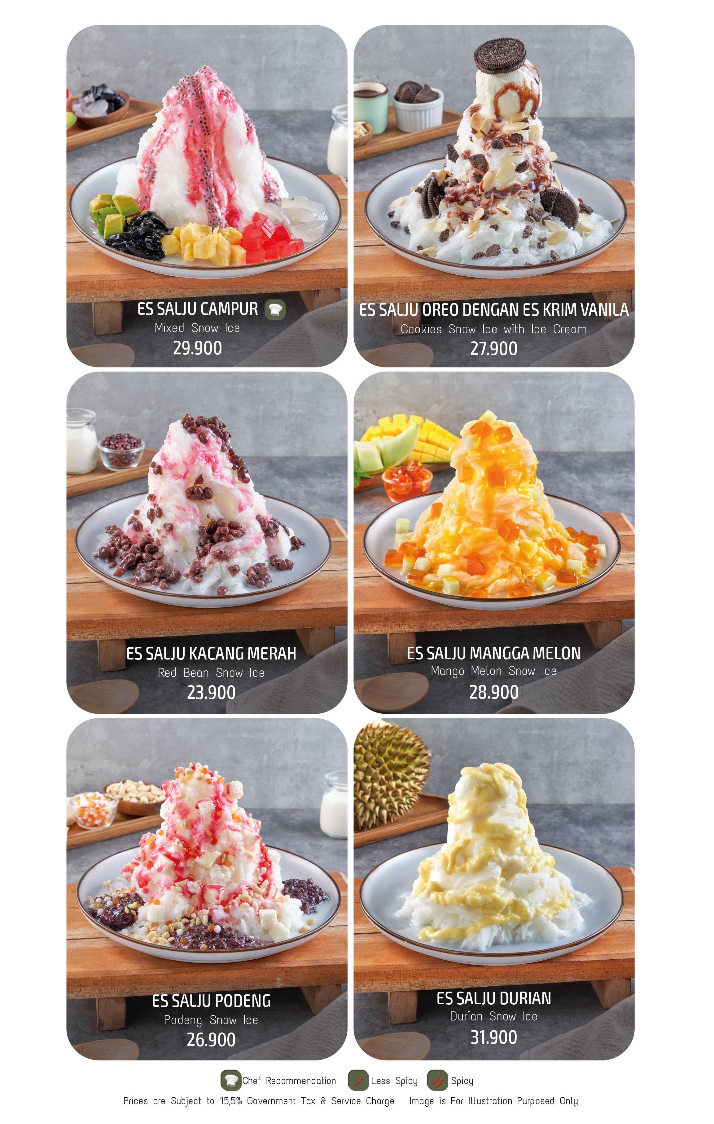 Imperial Kitchen Menu - Page 28