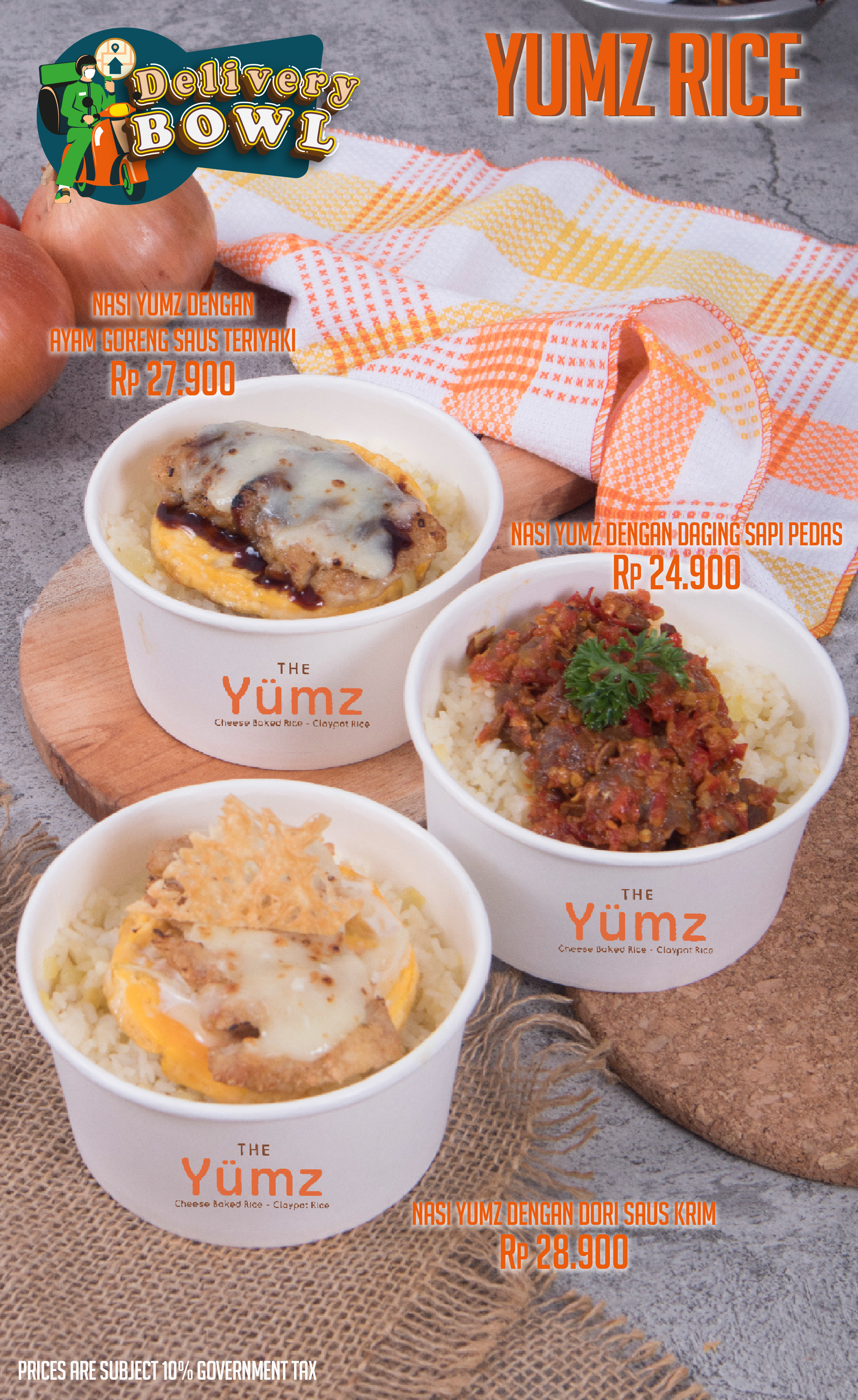 The Yumz - Delivery Bowl