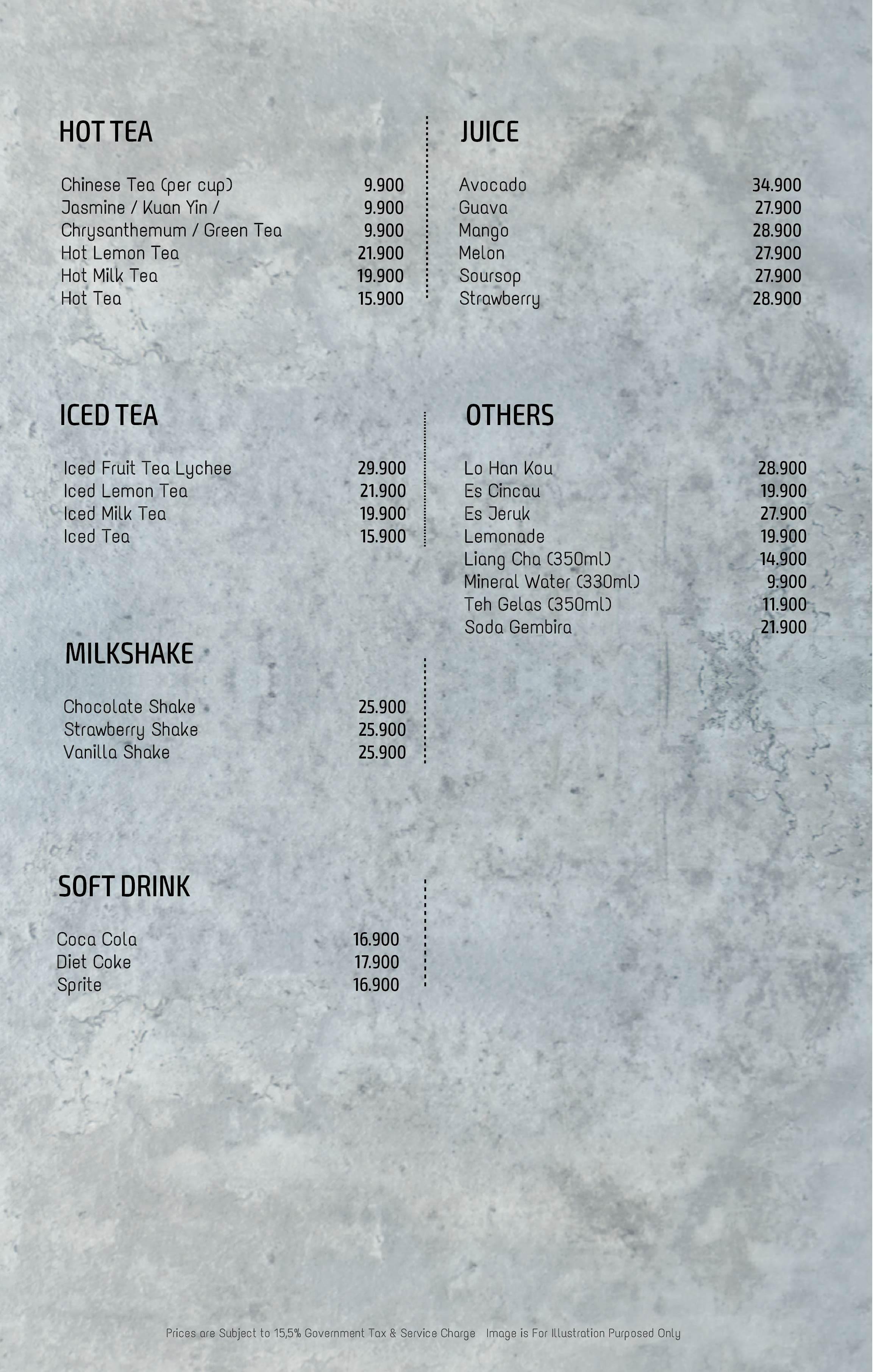 Imperial Kitchen Menu - Page 31